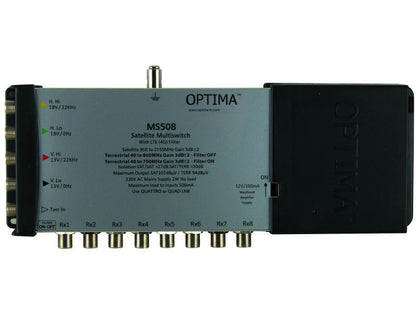 OPTIMA Multiswitch 5x8 LTE