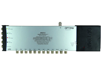 OPTIMA Multiswitch 5x12 LTE