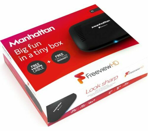 MANHATTAN T1 Freeview HD Set Top Box