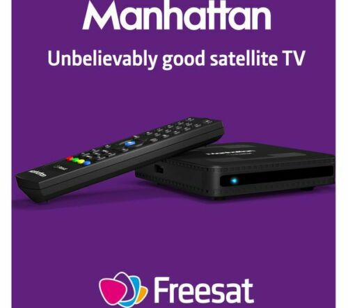 Manhattan SX Freesat HD Set Top Box
