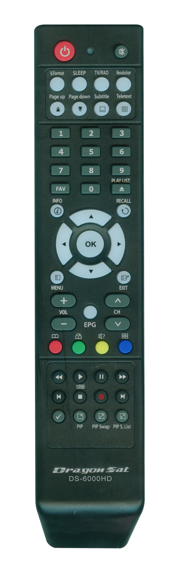 Dragonsat Replacement Remote Control