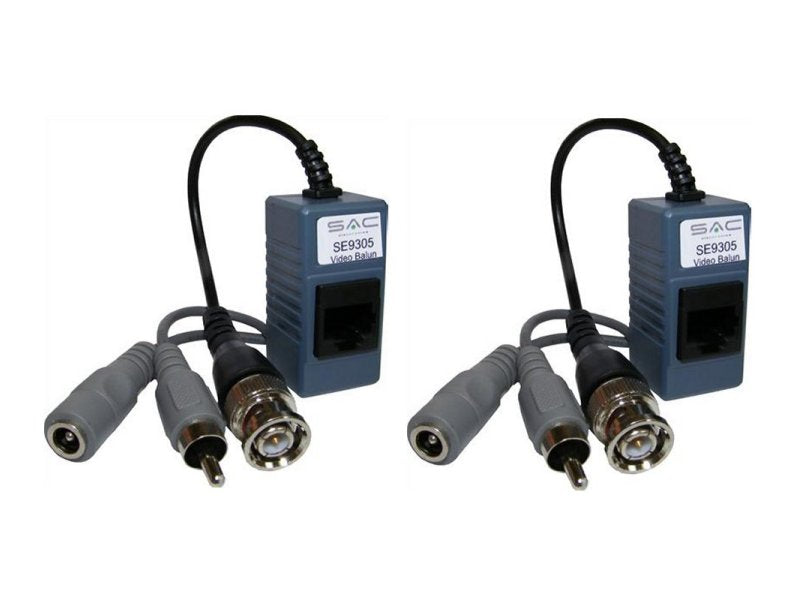 SAC Pair - Video/Audio/Power Cat5e Baluns