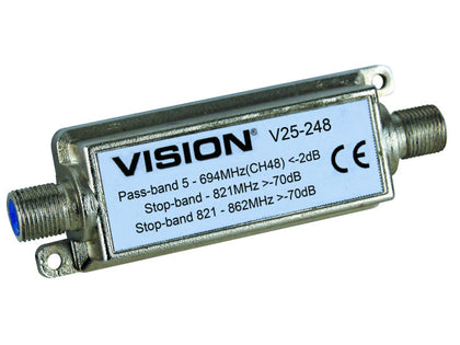 VISION Indoor Channel 48 4G LTE Filter