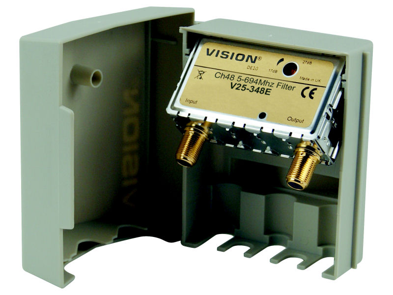 VISION Masthead Channel 48 4G LTE Filter