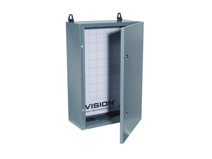 VISION WALL CABINET Outdoor Locking Grey