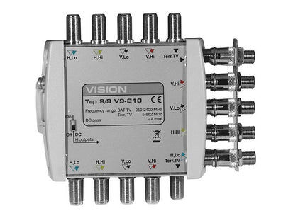 VISION V9 Tap 1-Way 10dB Loss