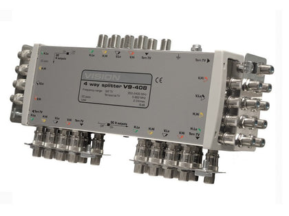 VISION V9 Splitter 4-Way 8dB Loss