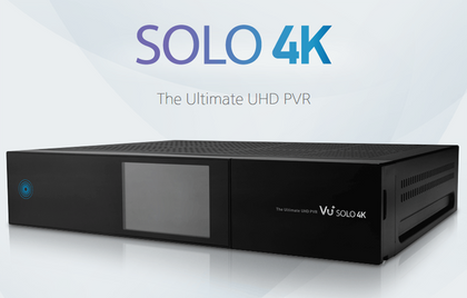 Vu+ Solo 4K Ultra HD UHD Twin DVB-S2 Linux Set-Top Box