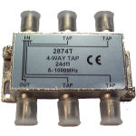 Internal 4/24 'F' Type Tap (5-1000mhz)