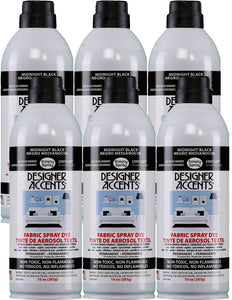 Designer Accents Fabric Paint Spray Dye by Simply Spray - Black