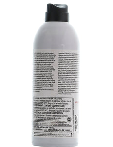 The back of a can of simply spray charcoal grey fabric paint spray dye