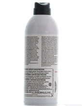 Load image into Gallery viewer, The back of a can of simply spray saddle brown fabric paint spray dye