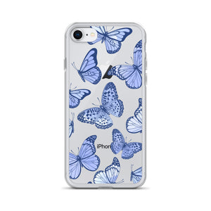 Blue Butterfly Case