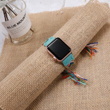 Load image into Gallery viewer, Handmade Braided Apple Watch Band