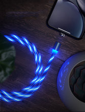Load image into Gallery viewer, Magnetic Light-up Charging Cable