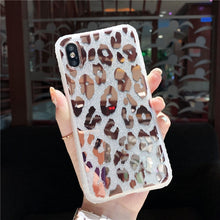 Load image into Gallery viewer, Leopard Print Mirror Case