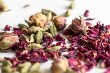 Load image into Gallery viewer, Rose & Cardamom Aromatherapy Eye Pillow