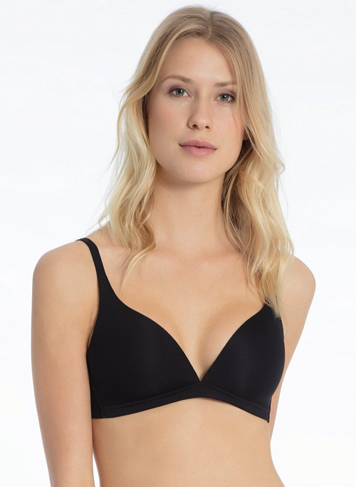 Calida Sensitive Black Wireless Bra 04025