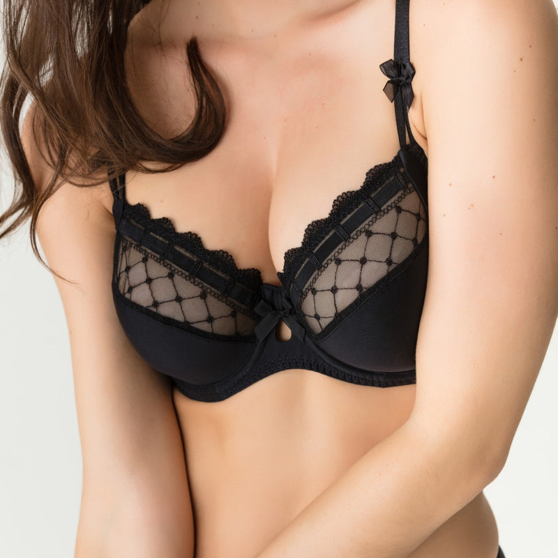 PrimaDonna Twist A La Folie Black Full Cup Wire Bra