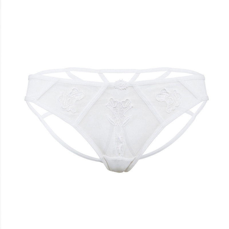 Bluebella Nova Ivory Strappy Brief