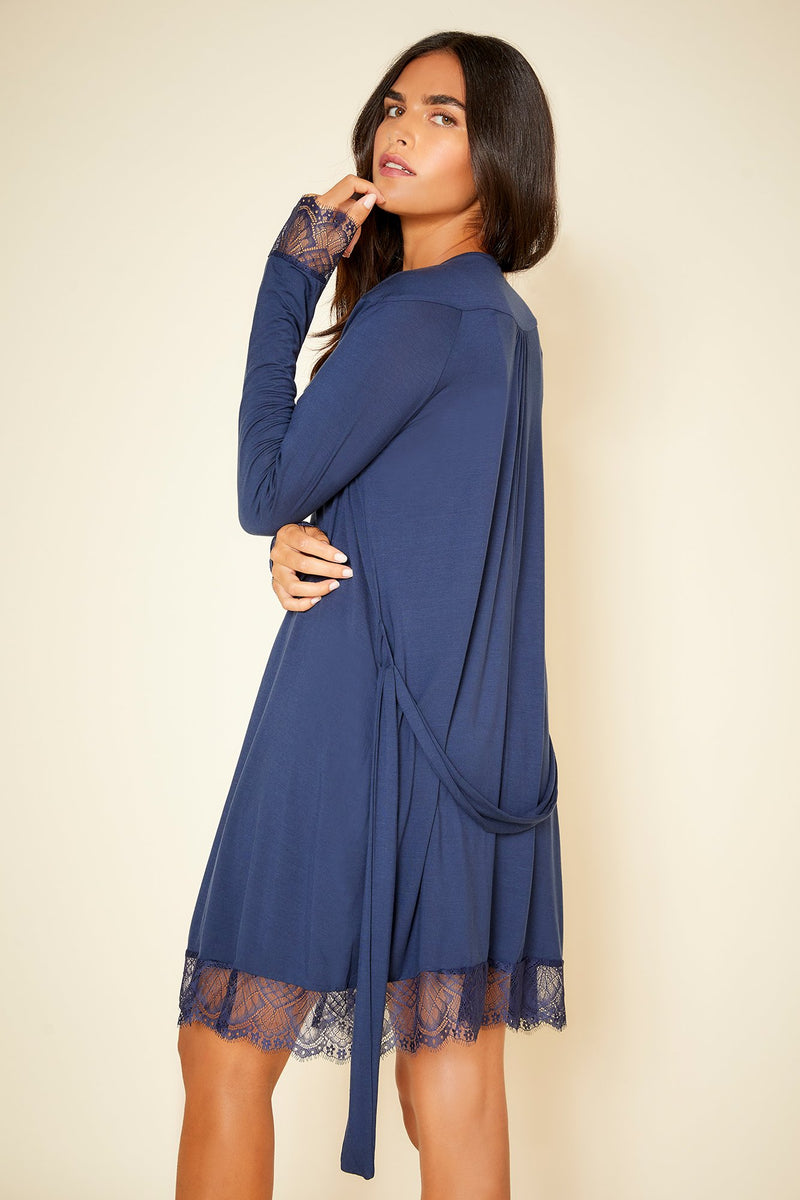 Cosabella Cheyenne Long Sleeve Robe