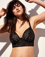 PrimaDonna Twist Longline I Do Bra Black 0141606/07