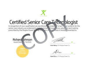 Certified Senior Care Technologist Certification