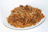 E30. Fried Rice Noodle with Beef & Soy Sauce/Black Bean Sauce