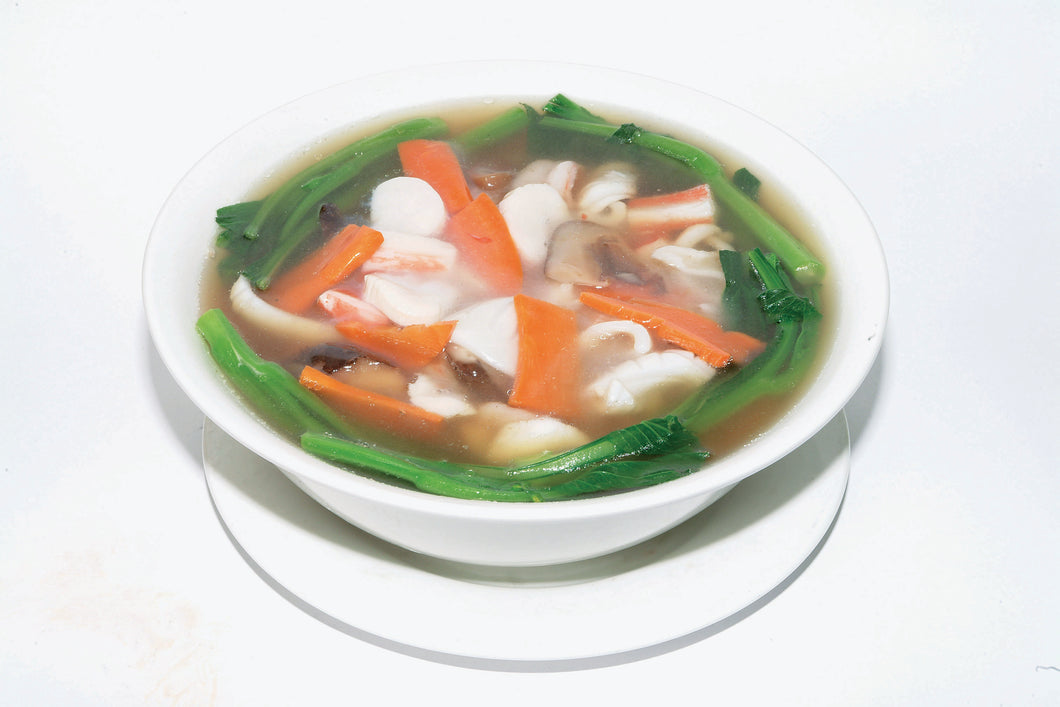 G02. Seafood Super Bowl Noodle in Soup