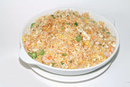 H07. Seafood with Dry Garlic Fried Rice