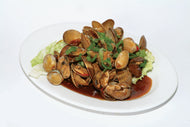 P20. Fried Clams with Chili Black Bean Sauce