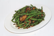 P34. Minced Pork with Preserved Olives & Green Beans