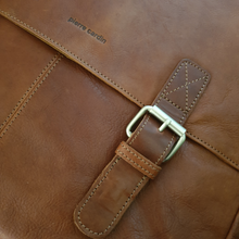 Load image into Gallery viewer, Rustic Leather Satchel/Computer Bag