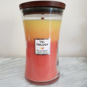 Wood Wick Candles Large Size
