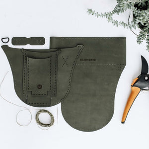 Hammered Leatherworks Kit : Good Thymes Gardening Belt.