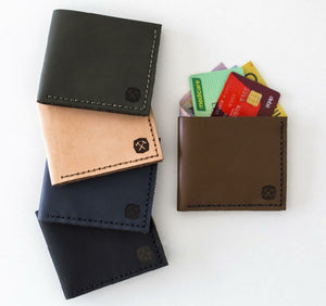 Hammered Leatherworks Kit : Pocket Wallet