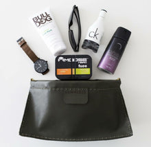 Load image into Gallery viewer, Hammered Leatherworks Kit : Henry Toiletries bag