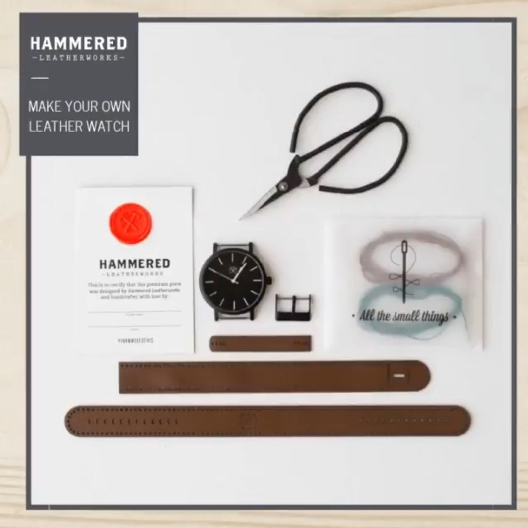 Hammered Leatherworks Kit : Original 42 Watch