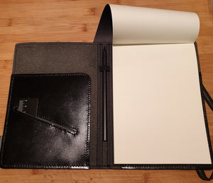 Leather Notepad Holder