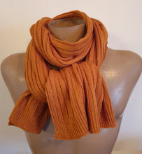 Load image into Gallery viewer, Scarf Plain Rib Knit