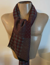 Load image into Gallery viewer, Reversible Scarf Multi pattern
