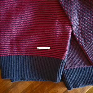 Thomson & Richards Two Tone Knit