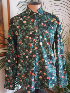 Berlin Palm Print Shirt