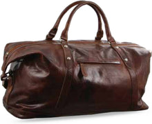 Load image into Gallery viewer, Leather overnight Bag