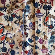 Load image into Gallery viewer, Astin Smith Paisley Floral Shirt