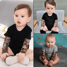 Load image into Gallery viewer, Tat Baby™ - Infant Sleeve Romper