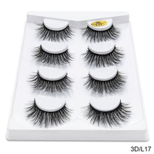 Load image into Gallery viewer, 4 Pair Mink Lashes
