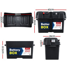 Load image into Gallery viewer, GIANTZ Battery Box 12V Camping Portable Deep Cycle AGM Universal Large USB Cig