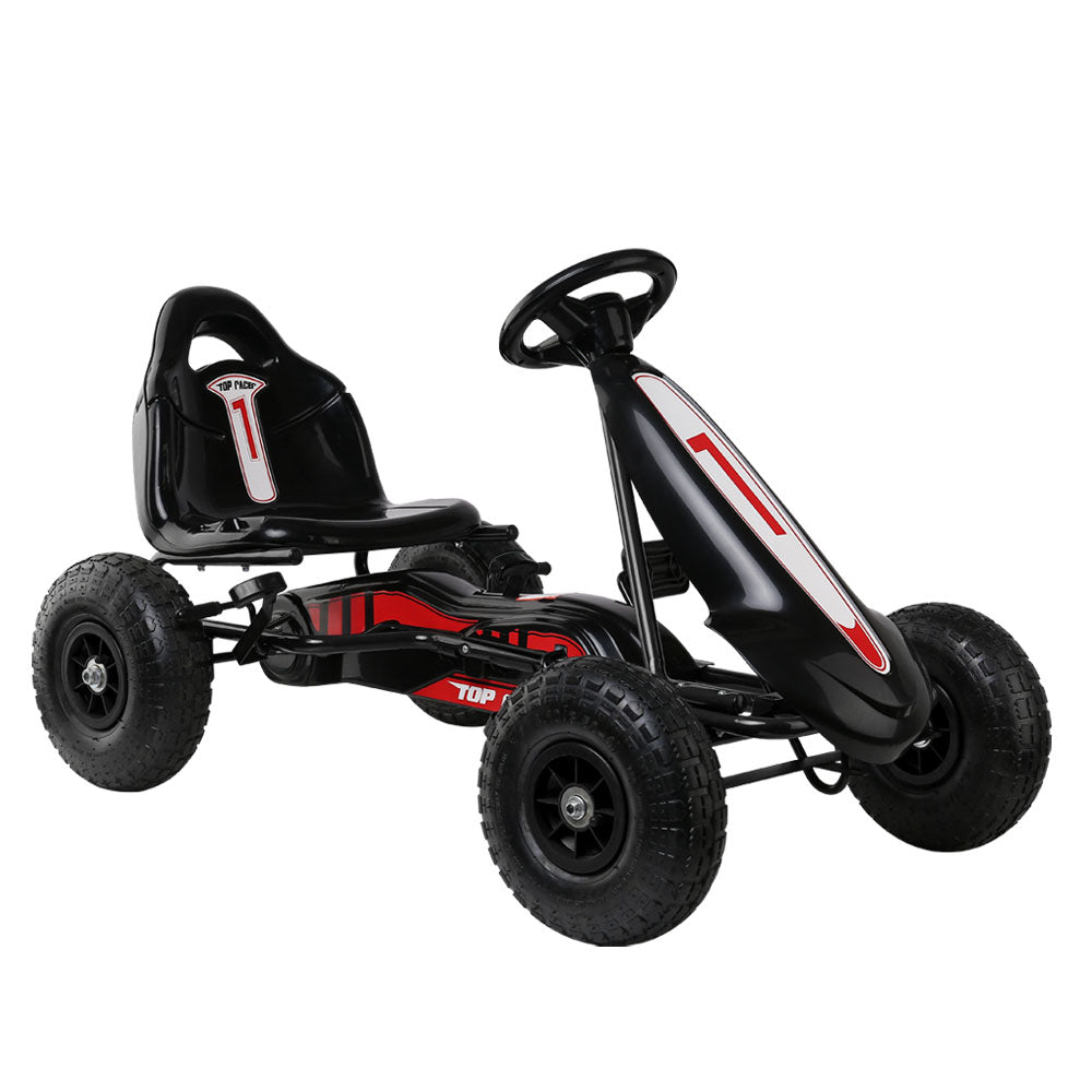 RIGO Kids Pedal Go Kart Car Ride On Toys Racing Bike