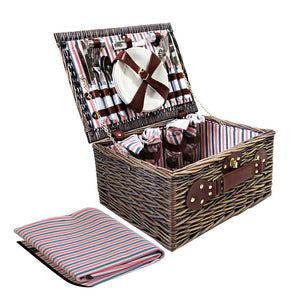 Alfresco 4 Person Picnic Basket